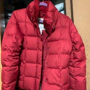 eddie bauer red coat!